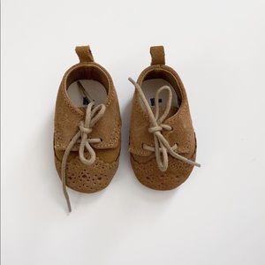 Baby Gap Brown Oxfords Size 0-3 Months